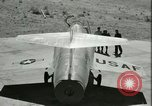 Image of F-104A Starfighter California United States USA, 1956, second 38 stock footage video 65675021306