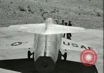 Image of F-104A Starfighter California United States USA, 1956, second 41 stock footage video 65675021306