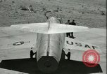 Image of F-104A Starfighter California United States USA, 1956, second 43 stock footage video 65675021306