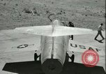 Image of F-104A Starfighter California United States USA, 1956, second 45 stock footage video 65675021306