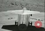 Image of F-104A Starfighter California United States USA, 1956, second 58 stock footage video 65675021306