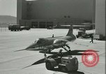 Image of F-104A Starfighter California United States USA, 1956, second 61 stock footage video 65675021308