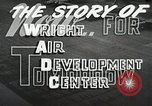 Image of Wright Air Development Center United States USA, 1950, second 21 stock footage video 65675021346