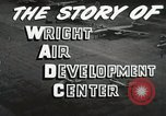 Image of Wright Air Development Center United States USA, 1950, second 22 stock footage video 65675021346