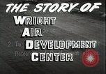 Image of Wright Air Development Center United States USA, 1950, second 29 stock footage video 65675021346