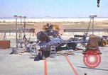 Image of Ramains of X-15-3 destroyed on test stand California United States USA, 1960, second 29 stock footage video 65675021358