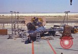 Image of Ramains of X-15-3 destroyed on test stand California United States USA, 1960, second 30 stock footage video 65675021358