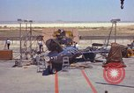 Image of Ramains of X-15-3 destroyed on test stand California United States USA, 1960, second 34 stock footage video 65675021358