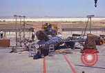 Image of Ramains of X-15-3 destroyed on test stand California United States USA, 1960, second 36 stock footage video 65675021358