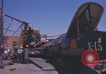 Image of Ramains of X-15-3 destroyed on test stand California United States USA, 1960, second 42 stock footage video 65675021358