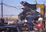 Image of Ramains of X-15-3 destroyed on test stand California United States USA, 1960, second 58 stock footage video 65675021358