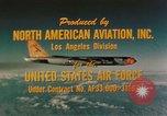 Image of X-15 United States USA, 1961, second 62 stock footage video 65675021381