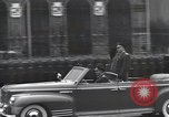 Image of Moscow parade celebrating 40th anniversary of Soviet Union Moscow Russia Soviet Union, 1957, second 8 stock footage video 65675021410