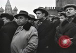 Image of Moscow parade celebrating 40th anniversary of Soviet Union Moscow Russia Soviet Union, 1957, second 11 stock footage video 65675021410