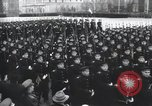 Image of Moscow parade celebrating 40th anniversary of Soviet Union Moscow Russia Soviet Union, 1957, second 26 stock footage video 65675021410