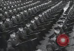 Image of Moscow parade celebrating 40th anniversary of Soviet Union Moscow Russia Soviet Union, 1957, second 33 stock footage video 65675021410