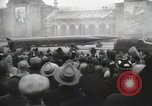 Image of Moscow parade celebrating 40th anniversary of Soviet Union Moscow Russia Soviet Union, 1957, second 50 stock footage video 65675021410