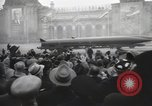 Image of Moscow parade celebrating 40th anniversary of Soviet Union Moscow Russia Soviet Union, 1957, second 53 stock footage video 65675021410