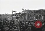 Image of Moscow parade celebrating 40th anniversary of Soviet Union Moscow Russia Soviet Union, 1957, second 62 stock footage video 65675021410