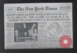 Image of firing of satellites New York United States USA, 1958, second 8 stock footage video 65675021411