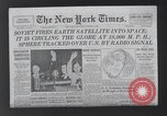 Image of firing of satellites New York United States USA, 1958, second 10 stock footage video 65675021411