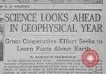 Image of Geophysical Year New York United States USA, 1958, second 8 stock footage video 65675021414