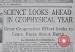 Image of Geophysical Year New York United States USA, 1958, second 11 stock footage video 65675021414