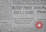 Image of military power New York United States USA, 1958, second 13 stock footage video 65675021419