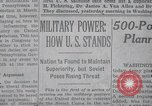 Image of military power New York United States USA, 1958, second 20 stock footage video 65675021419
