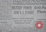 Image of military power New York United States USA, 1958, second 21 stock footage video 65675021419