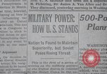 Image of military power New York United States USA, 1958, second 22 stock footage video 65675021419