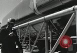Image of Mercury Atlas MA-9 rocket erected Cape Canaveral Florida USA, 1963, second 18 stock footage video 65675021462
