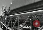 Image of Mercury Atlas MA-9 rocket erected Cape Canaveral Florida USA, 1963, second 27 stock footage video 65675021462