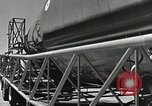 Image of Mercury Atlas MA-9 rocket erected Cape Canaveral Florida USA, 1963, second 28 stock footage video 65675021462