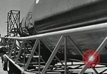Image of Mercury Atlas MA-9 rocket erected Cape Canaveral Florida USA, 1963, second 29 stock footage video 65675021462