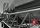 Image of Mercury Atlas MA-9 rocket erected Cape Canaveral Florida USA, 1963, second 30 stock footage video 65675021462