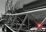 Image of Mercury Atlas MA-9 rocket erected Cape Canaveral Florida USA, 1963, second 32 stock footage video 65675021462