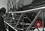 Image of Mercury Atlas MA-9 rocket erected Cape Canaveral Florida USA, 1963, second 34 stock footage video 65675021462