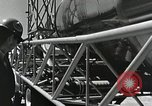 Image of Mercury Atlas MA-9 rocket erected Cape Canaveral Florida USA, 1963, second 35 stock footage video 65675021462