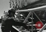 Image of Mercury Atlas MA-9 rocket erected Cape Canaveral Florida USA, 1963, second 36 stock footage video 65675021462