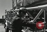 Image of Mercury Atlas MA-9 rocket erected Cape Canaveral Florida USA, 1963, second 37 stock footage video 65675021462
