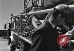 Image of Mercury Atlas MA-9 rocket erected Cape Canaveral Florida USA, 1963, second 38 stock footage video 65675021462