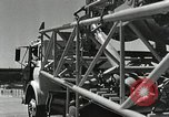Image of Mercury Atlas MA-9 rocket erected Cape Canaveral Florida USA, 1963, second 40 stock footage video 65675021462