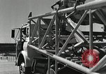 Image of Mercury Atlas MA-9 rocket erected Cape Canaveral Florida USA, 1963, second 41 stock footage video 65675021462