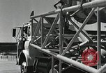 Image of Mercury Atlas MA-9 rocket erected Cape Canaveral Florida USA, 1963, second 42 stock footage video 65675021462