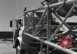 Image of Mercury Atlas MA-9 rocket erected Cape Canaveral Florida USA, 1963, second 43 stock footage video 65675021462