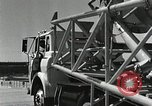 Image of Mercury Atlas MA-9 rocket erected Cape Canaveral Florida USA, 1963, second 44 stock footage video 65675021462