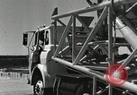 Image of Mercury Atlas MA-9 rocket erected Cape Canaveral Florida USA, 1963, second 45 stock footage video 65675021462