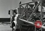 Image of Mercury Atlas MA-9 rocket erected Cape Canaveral Florida USA, 1963, second 46 stock footage video 65675021462