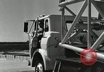 Image of Mercury Atlas MA-9 rocket erected Cape Canaveral Florida USA, 1963, second 49 stock footage video 65675021462